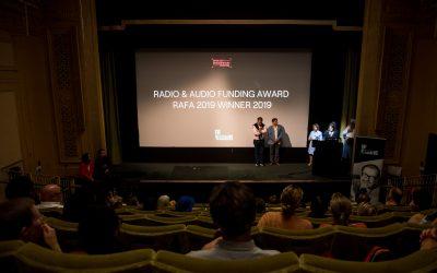 RAFA Judges present award long